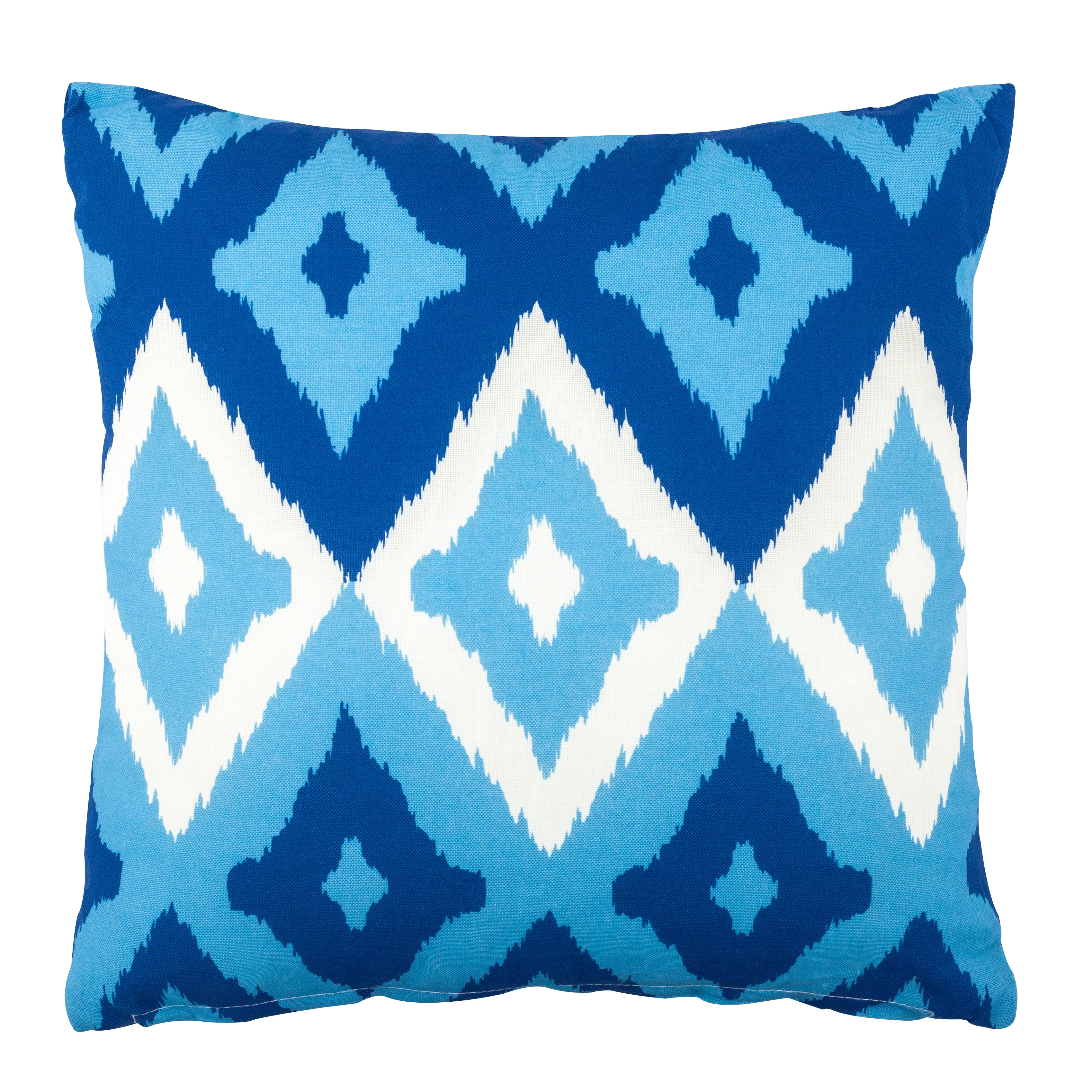 Shop Del Mar Outdoor Pillow Blue 17 In Sq Overstock 31307261