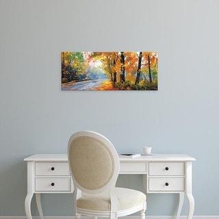 Easy Art Prints Graham Gercken's 'Autumn Backlight' Premium Canvas Art