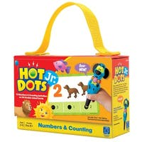 Educational Insights Hot Dots Jr Cards Kit, Numbers and Counting