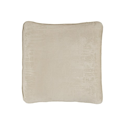 Byers Pearl Velvet Contemporary Accent Pillow