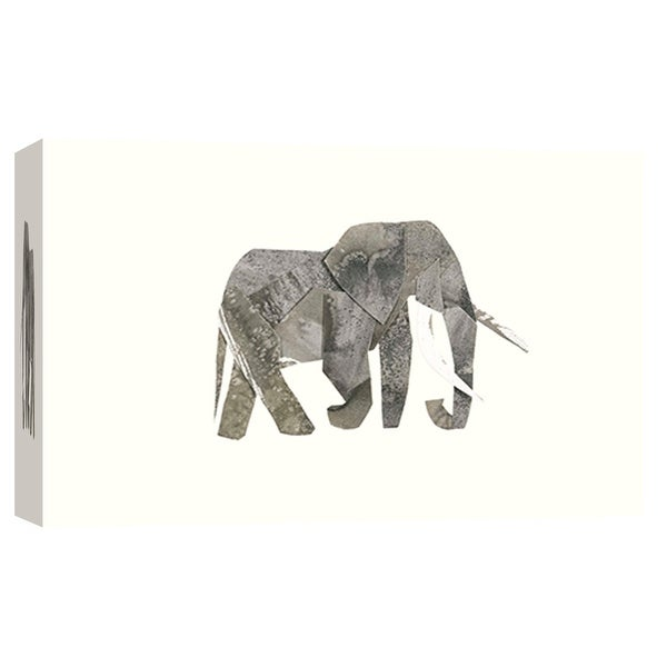 "PTM Images 9-102014 PTM Canvas Collection 8"" x 10"" - ""Elephant"" Giclee Elephants Art Print on Canvas"