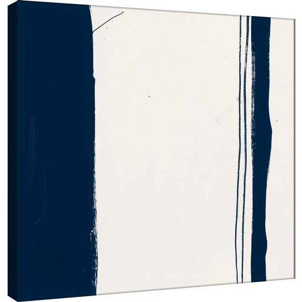 """PTM Images 9-100913 PTM Canvas Collection 12"""" x 12"""" - """"Indigo G"""" Giclee Abstract Art Print on Canvas"""