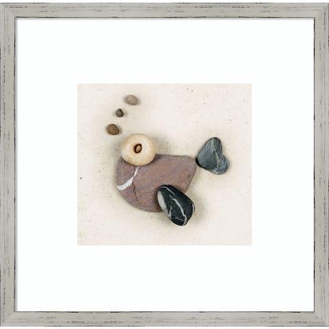 Stonefish I by Ian Winstanley 16-inch x 16-inch Framed Wall Art Print