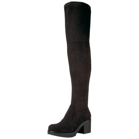 Indigo Rd. Womens Moray Almond Toe Over Knee Fashion Boots