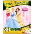 Crayola Mini Coloring Pages - Disney Princess 1 ea - Thumbnail 0