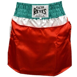 Cleto Reyes Women's Satin Boxing Skirt Trunks - Mexican Flag