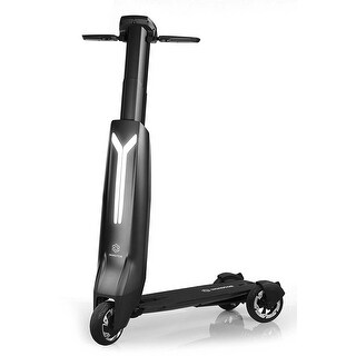 Immotor GO Intelligent Portable Foldable Luxury Black Electric Scooter