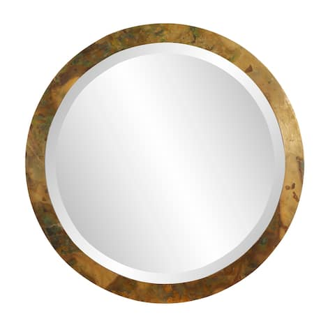 Camou Large Round Mirror