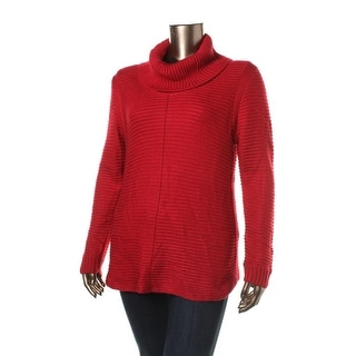 Calvin Klein Womens Knit Cowl Neck Pullover Sweater