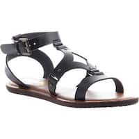 Madeline Women's Delani Gladiator Sandal Black Synthetic