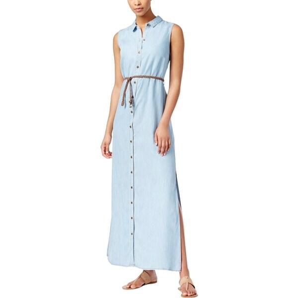 97510d975b7ca Kut Womens Maxi Dress Button Down Denim
