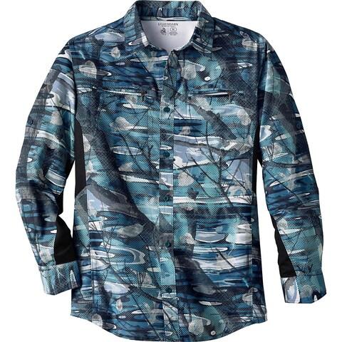 Legendary Whitetails Mens Tamarack Fishing Utility Shirt