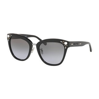 Link to Coach HC8266H 50024Q 53 Black Woman Square Sunglasses Similar Items in Women's Sunglasses