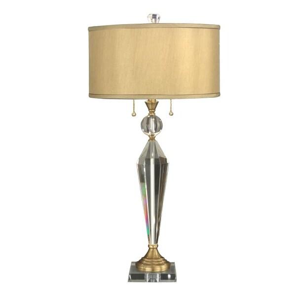 Dale Tiffany GT701218 Strada 2 Light Table Lamp - n/a
