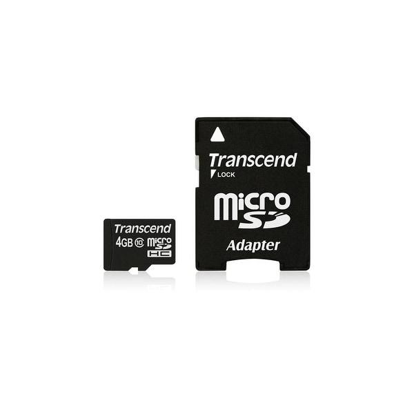Transcend TS4GUSDHC10M SECURE DIGITAL 4GB MICRO SDHC CL10