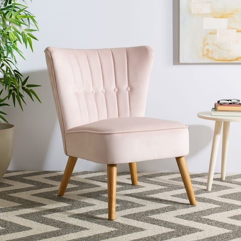 "Safavieh June Mid-century Accent Chair - 25.6"" x 27.2"" x 31.1"""