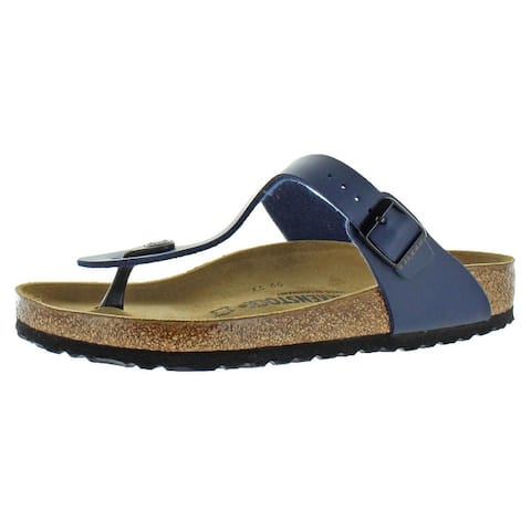 5a8f24a78 Birkenstock Womens Gizeh T-Strap Sandals Birko-Flor Adjustable