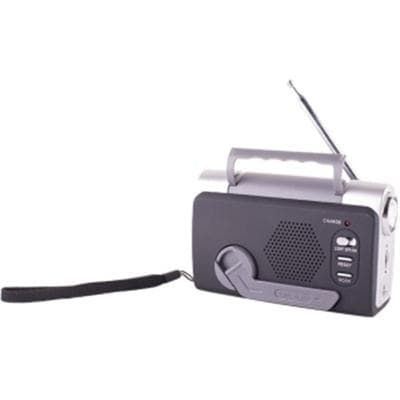 Stansport 01511 Multi-Function Emergency Fm Weatherband With Led Light Dynamo Radio