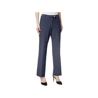 Calvin Klein Womens Straight Leg Pants Modern Fit Flat Front (2 options available)