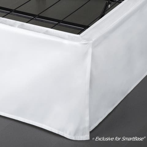 Priage by ZINUS SmartBase® 14 Inch Bed Skirt