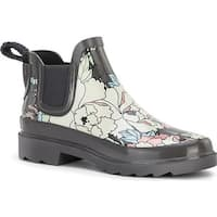 Sakroots Women's Rhyme Charcoal Flower Power