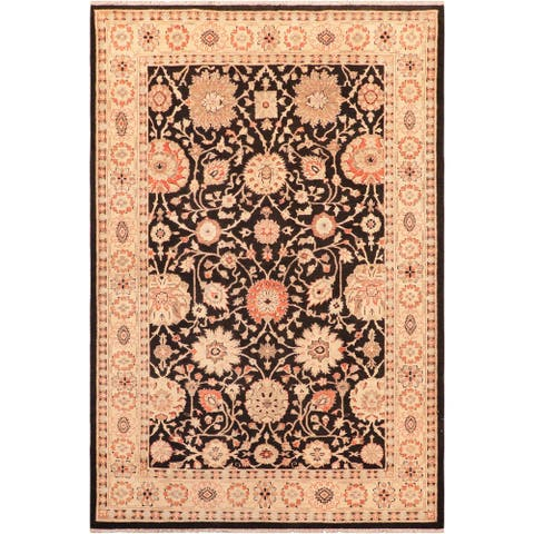 """Shabby Chic Ziegler Ayesha Hand Knotted Area Rug -5'10"""" x 9'0"""" - 5 ft. 10 in. X 9 ft. 0 in."""
