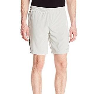 Asics NEW Silver Gray Mens Size XL Jikko Drawstring Athletic Shorts
