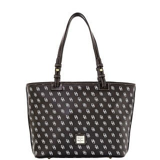 Dooney & Bourke Gretta Small Leisure Shopper (Introduced by Dooney & Bourke at $198 in Aug 2014) - Black Black|https://ak1.ostkcdn.com/images/products/is/images/direct/343f007a2598d9e780d3474bf4f9c4fc57d73f7e/Dooney-%26-Bourke-Gretta-Small-Leisure-Shopper-%28Introduced-by-Dooney-%26-Bourke-at-%24198-in-Aug-2014%29.jpg?impolicy=medium