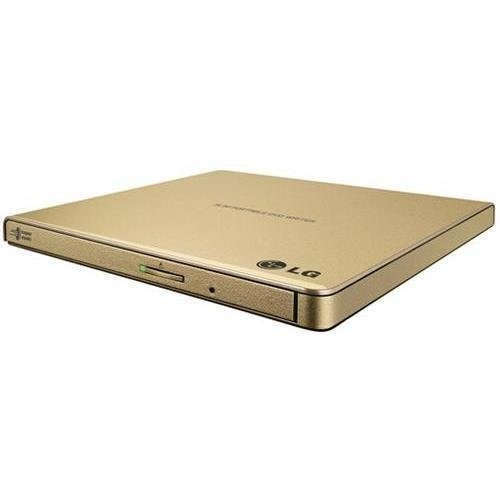 Lg Gp65ng60 External Slim Dvdrw 8X Usb Gold With Cyberlink Software Retail