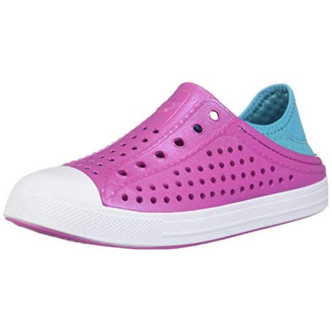 Skechers Girl'S, Guzman Steps Slip On Shoes Pink 12 M