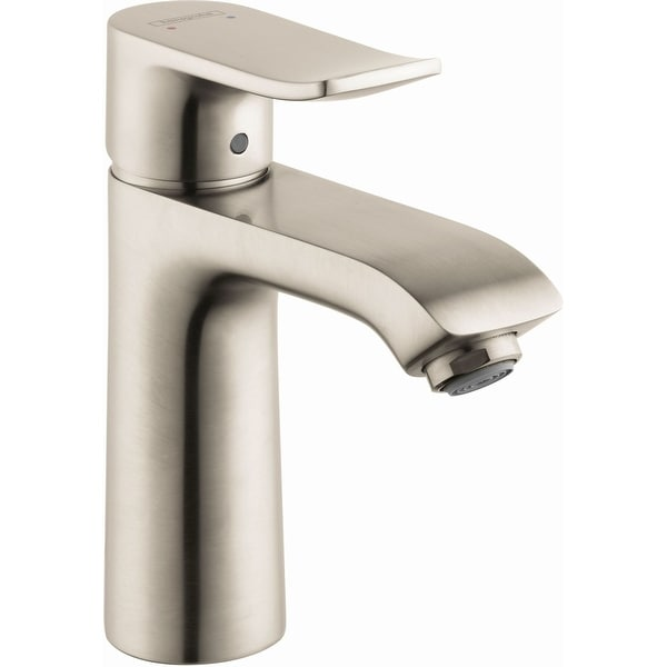 Hansgrohe 31080 Metris Single Hole Bathroom Faucet with EcoRight, Quick Clean, and ComfortZone Technologies - Drain Assembly