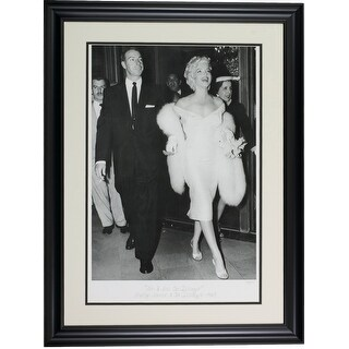 Marilyn Monroe Joe DiMaggio Framed 16x23 Hulton Archive Giclee LE 23 375