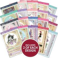 Hunkydory Whopper Topper A5 Paper Pad 40/Pkg-For The Ladies, 20 Designs/2 Each