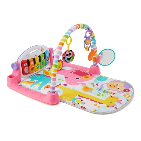 Deluxe Kick & Play Piano Gym, Pink. Opens flyout.