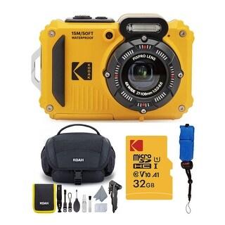 Kodak PIXPRO WPZ2 Rugged Waterproof 16MP Digital Camera Bundle