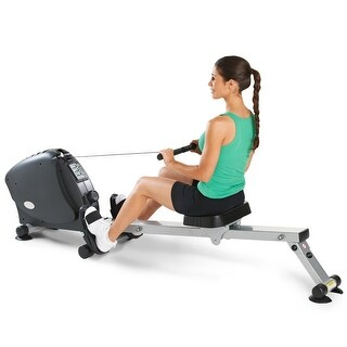 LifeSpan Fitness RW1000 foldable indoor rowing machine - Black