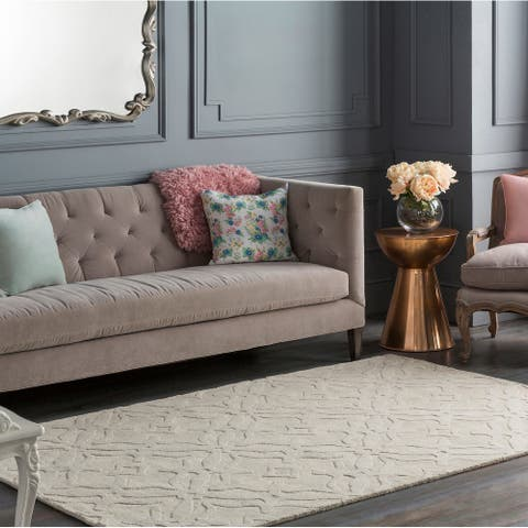 Copper Grove Rossferry Hand-loomed Wool Area Rug