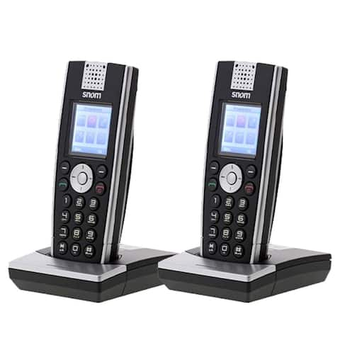Snom M9R-HC 4-Line Operation SpeakerPhone w/ DECT 6.0 Technology (2 Pack)