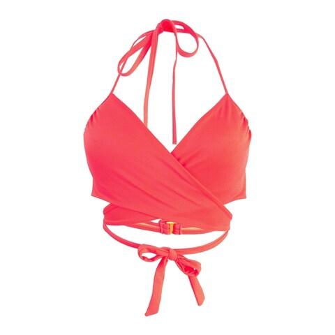 Sundazed Women's Simone Bra-Sized Underwire Wrap Bikini Top