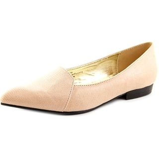 Bellini Flora Pointed Toe Synthetic Flats
