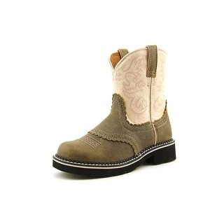 Ariat 10001995 Youth Round Toe Leather Multi Color Western Boot