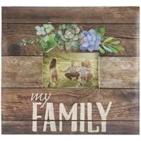 """My Family - Mbi Expressions Post Bound Album W/Window 12""""X12"""""""