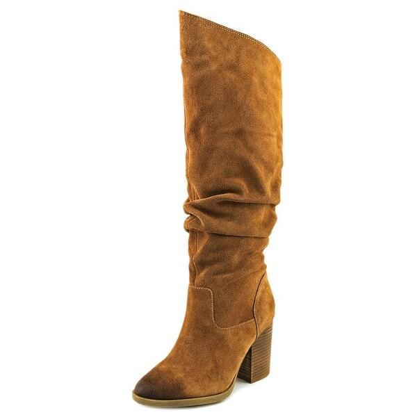 Shop Braun Steve Madden Savas Damens Round Toe Suede Braun Shop Knee High Boot ... fbddd4