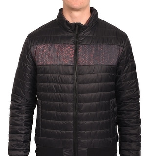 Roberto Men Cavalli Puffer Jacket Black