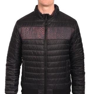 Roberto Men Cavalli Puffer Jacket Black