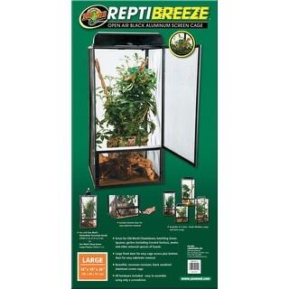 Reptibreeze Open Air Aluminum Screen Cage