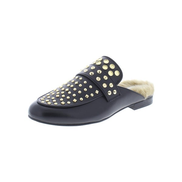 11a5eea01 Shop Steve Madden Womens Jordan Loafers Leather Studded - Free ...