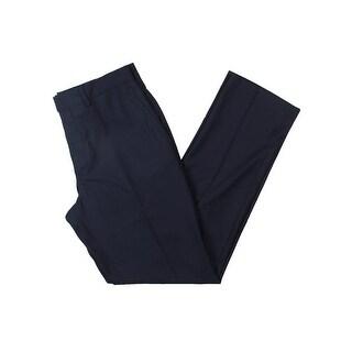 Kenneth Cole Reaction Mens Dress Pants Shadow Stripe Business