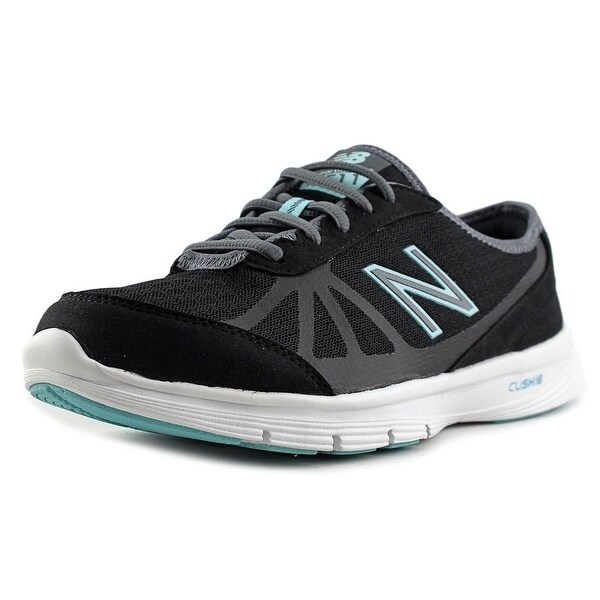 New Balance WW511 Women D Round Toe Synthetic Black Walking Shoe