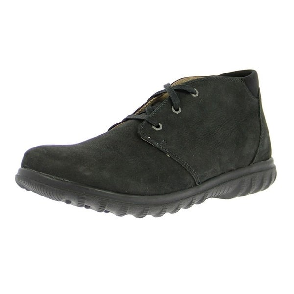 Bogs Outdoor Boots Mens Eugene Chukka Nubuck Leather WP Rubber